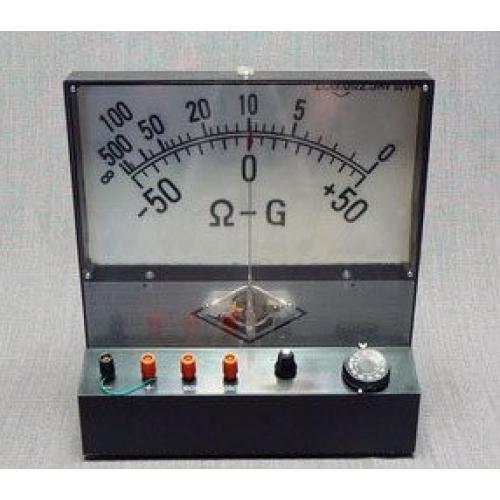 000007892. Омметр-вольтметр с гальванометром (демонстрационный) 1. Назначение Прибор