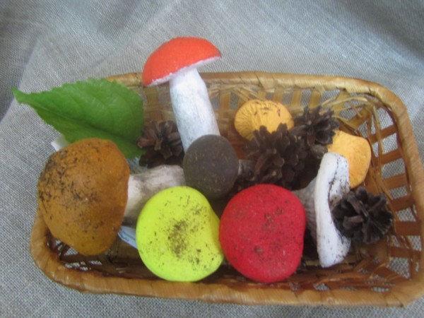 Муляжи грибов для детского сада