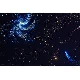 Напольный фибероптический ковер «Звездное небо» 2х1 м.(640точек)