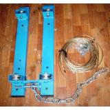 Блочная подвеска для гимнастических колец
