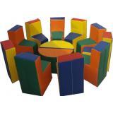 Комплект мягкой игровой мебели «Радуга»