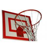 Кольцо баскетбольное метал №7 100х110мм (пруток 16мм)Усиленное-вандалоуст. б/сетки диам.450мм