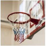 Сетка баскетбольная (шнуровая) 4,5мм, трехцветная -