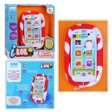 1Toy Kidz Delight I-LOL Смартфон обуч. д.малышей, 2 x AAA бат., 170 x 200 x 50см,кор.