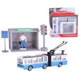 Автобус/троллейбус с резинкой