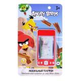 1Toy Мобильный телефон Angry Birds типа айфон, стилус, звук 13,5х22 см, блистер