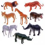 Наборы животных ПВХ